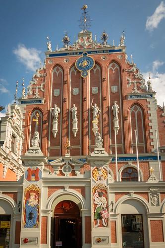 Riga; Schwarzhäupterhaus