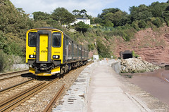 Teignmouth (ashthemainman) Tags: teignmouth sea wall dawlish gwr hst iep 150232