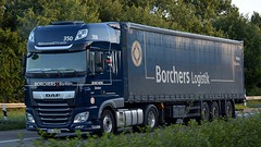 D - Borchers Borken >350< DAF XF 106 SSC (BonsaiTruck) Tags: borchers borken 350 daf lkw lastwagen lastzug triuck trucks lorry lorries camion caminhoes