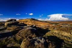 Higger Tor and Burbage from Carl Wark, Peak District, UK (SheffieldRambler) Tags: higgertor peakdistrict