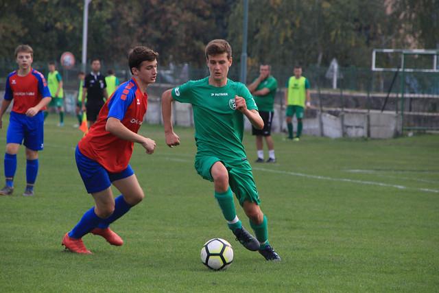 U19: PŠC Pezinok - FC Zohor (10/2018)