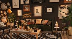 #39- It's so good to be home (Rhea's Rooms) Tags: fancydecor apple fall loft sl secondlife dustbunny jian floorplan merak