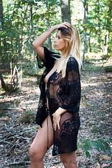 Elsa (henrychristo27 (Christophe)) Tags: portraiture sensuality transparence foret nude artisticnude glamour nature exterieur women feminine model