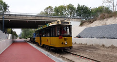 Diesel electrisch (lhb-777) Tags: uniek power tram streetcar diesel museumtram ret retm ema elektrisch electric klasse amsterdam bovenleiding allan
