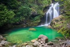 Slovenia - Waterfall Sum -  Vintgar Klamm (Akulatraxas) Tags: greenwater river slovenia vintgarklamm waterfallsum