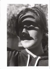 (Emma Morch) Tags: portrait film monochrome analogic outdoors shadow natural light poeple peopleportrait fujifilm 35mm