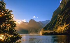 Solitude-613 (Wim Koopman) Tags: newzealand light rays sun mlifordsound