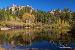 Cool Calm Rocky Mountains Autumn Reflections (Striking Photography by Bo Insogna) Tags: redfeather lakes colorado reflections autumn colors nature landscapes trees calm peaceful jamesboinsogna photography commercialart imagelicensing ponds rockymountains redfeatherlakes unitedstates