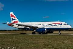 British Airways G-EUPX (U. Heinze) Tags: aircraft airlines airways airplane planespotting plane haj hannoverlangenhagenairporthaj eddv flugzeug nikon