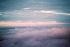 Blurry times, clear horizon (Sarah Blard) Tags: canon sky film cloudscape dreamscape analogue clouds