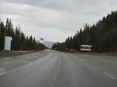 Crossing the BC/Alberta border on Hwy 16 in our family motorhome (jimbob_malone) Tags: 2018 highway16 britishcolumbia alberta