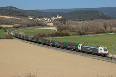 Bobinero Bilbao-Villaverde (MACD 3) Tags: renfeoperadora mercancias 253052 traxx bombardier siderurgico railsider adif tren train bobinero canon eos600d
