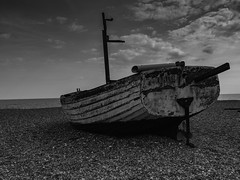 Aldeburgh Beach (davepickettphotographer) Tags: aldeburgh beach suffolk uk east eastern england shingle eastofengland blackandwhitephotography landscape