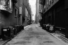The Alley (Nicholas Erwin) Tags: alley city urban buildings street road contrast blackandwhite monochrome bw mono fujifilm fujifilmxt2 fujixt2 fuji xf23mmf2 xf23mmf2rwr manchester newhampshire nh unitedstatesofamerica usa america travel fav10 fav25
