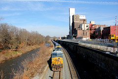 When You Could See the River (craigsanders429) Tags: kentohio csxinkentohio csx csxtrains csxnewcastlesubdivision csxlocomotives csxmotivepower intermodaltrains csxintermodaltrains cuyahogariver