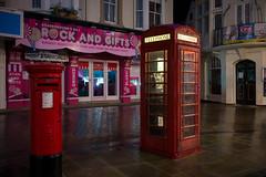 Scarborough - Telephone kiosk (Tony McLean) Tags: ©2018tonymclean scarborough northyorkshire streetphotography streetscenes dawn yorkshirecoast leicam240 leica35summiluxfle