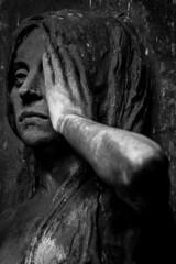 The girl (michael_hamburg69) Tags: hamburg germany deutschland friedhof cemetery ac17 bildhauercaesarscharff scharff 1901 girl mädchen bronze sculpture skulptur charon jugendstil portal torzurunterwelt sphinx relief ferryman fährmann styx nachen einbaum boot mann bart bärtig beard death underworld artnouveau man oldman male ohlsdorf parkfriedhof