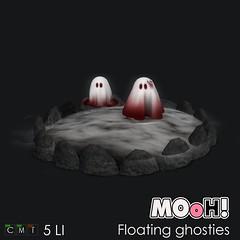 MOoH! Floating ghosties (Dalriada Delwood (MOoH!)) Tags: boo bunny halloween mooh