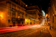 Tram 28E Light Traces (Ni1050) Tags: ruavitorcordon lisbon carreira no 28 portugal lisboa lissabon sony ilce7rm2 ninis ninicrew fe a7rm2 a7rii a7r2 ni1050 urlaub holidays vacation hauptstadt capital 2018 sommer summer städtetour city trip fe24240mmf3563oss nacht night lights lichter strasenbahn gleise schienen rails carris tram carreira28edoselétricosdelisboa linha28 linie28 line28 nuit notte noche trem noite lichtspuren light tarces long exposure time langzeitbelichtung 28e lightroom lr