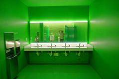 green room selfie (rovingmagpie) Tags: california sanfrancisco sfmoma bathroom museum green selfie art summer2018