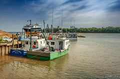 Hightide at Delhaven (kenmojr) Tags: 2018 annapolisvalley autumn boats canada delhaven fall fishing hightide maritimeprovinces minasbasin novascotia september sky water
