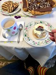 Tea and cake 165-365 (12) (♔ Georgie R) Tags: tea mug cake spoon