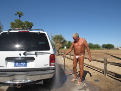 IMG_0340[1] (OQuagg) Tags: laveen thongman mid october still warm enough wash his car thong