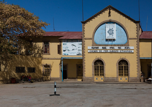 Station of the ethio-djibouti railway, Dire dawa region, Dire dawa, Ethiopia