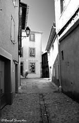 Auberge de Jeunesse (Dave Snowdon (Wipeout Dave)) Tags: davidsnowdonphotography canoneos80d france francais carcassonne blackandwhite street mono architecture building aubergedejeunesse auberge languedoc aude occitanie
