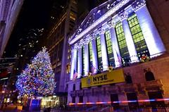 Holiday 2016, 12.03.16 (gigi_nyc) Tags: nyc newyorkcity holiday holiday2016 newyorkstockexchange nyse christmas christmastree christmas2016