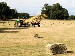 Hay Harvest (Neal3K) Tags: tractor harvest johndeere hay haybale