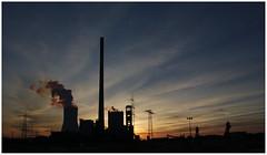 Kraftwerk Walsum (LeonardoDaQuirm) Tags: duisburg walsum kraftwerk powerplant sunset industry industrie kohle coal