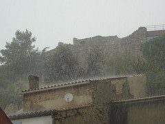 It's raining in Fitou