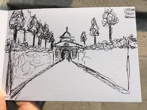 5 minute sketch @ Belvedere ©  Still ePsiLoN