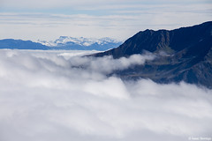 Mountains above the Clouds (isaac.borrego) Tags: france chamonix alps frenchalps europe