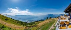 Lago Maggiore 2018  - Locarno/Cimetta (karlheinz klingbeil) Tags: seilbahn suisse lagomaggiore cablecar swissalps schweiz switzerland berge panorama alpen mountain avegno tessin ch