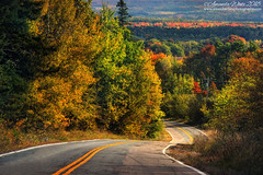 Valley View (sminky_pinky100 (In and Out)) Tags: fall fallcolours autumn fallfoliage novascotia atlanticprovinces atlanticcanada landscape maritimeprovinces maritimes road annapolisvalley travel tourism scenic pretty view valley cans2s omot outside trees