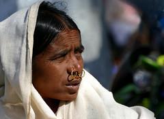 Au marché de Kunduli (Christian Mathis) Tags: femme tribu kunduli orissa inde india orisha marché anneaux bijoux