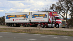 The Big 3, HUME (3/3) (Jungle Jack Movements (ferroequinologist)) Tags: barbers western star kenworth mack lindsay transport bj moran kangaloon yass hume highway lachlan valley hay stock feed hp horsepower big rig haul haulage freight cabover trucker drive carry delivery bulk lorry hgv wagon road nose semi trailer deliver cargo interstate articulated vehicle load freighter ship move roll motor engine power teamster truck tractor prime mover diesel injected driver cab cabin loud rumble beast wheel exhaust double b grunt