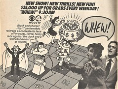 Whew! 1979 (STUDIOZ7) Tags: cbs tv television tvguide whew tomkennedy wccotv channel4 1970s 70s seventies ad advertisement