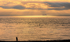 Solitude-611 (Wim Koopman) Tags: ship boat reflection mood atmosphere flushing holland dutch