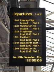 B438y Bolton (61379 Mayflower) Tags: railway railways electrification
