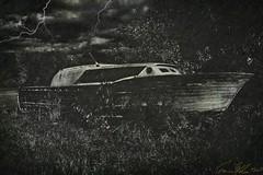 Bateau fantôme à Les Cèdres