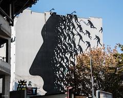 Paris 13ème (odile lm) Tags: bicolore mural fresque paris street art