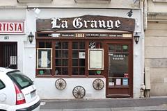 La Grange (Brian Aslak) Tags: paris france frankrike prantsusmaa フランス europe quartierlatin ruemouffetard lagrange notillinois dessœursaubry restaurant café
