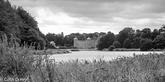 Blickling Estate    -2.jpg (Colin Dorey) Tags: norfolk nt nationaltrust house mansion hall bw monochrome blackandwhite blackwhite blickling blicklingestate blicklinghall sky gardens park architecture structure buildings lake water landscape tree grass