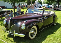 1940 Lincoln Continental (ilgunmkr - Mourning The Loss Of My Wife Of 52 Year) Tags: carshow sandwichillinois 2018 lincolncontinental lincoln v12 convertible 1940 1940lincoln