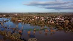 stony stratford b120 (prstony) Tags: stony stratford floods millfield aerial