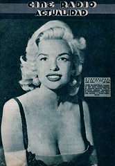 Jayne Mansfield - Cine Radio Actualidad (poedie1984) Tags: jayne mansfield vera palmer blonde old hollywood bombshell vintage babe pin up actress beautiful model beauty hot girl woman classic sex symbol movie movies star glamour girls icon sexy cute body bomb 50s 60s famous film kino celebrities pink rose filmstar filmster diva superstar amazing wonderful photo picture american love goddess mannequin black white mooi tribute blond sweater cine cinema screen gorgeous legendary iconic magazine covers oorbellen earrings radio actualidad