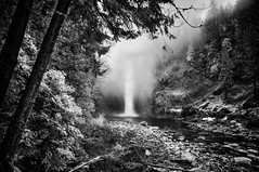 Snoqualmie Falls (Jon Dickson Photography) Tags: infra infrared falls snoqualmie was washington seattle lush forest trees ngc